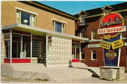 CHANDLER - Restaurant Campbell 1970-80s - Quebec