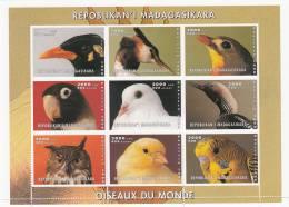 Madagascar Minipliego Sin Dentar Menos La Parte Inferior Del Minipliego - Madagascar (1960-...)