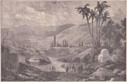 PALESTINE. Eglise De L'Annonciation à Nazareth. 1892 - Vieux Papiers
