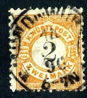 GS-614)  WURTTEMBERG  1881  Mi.#53a  / Sc.# 71  Used - Wuerttemberg
