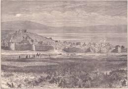PALESTINE. Tibériade. 1892 - Vieux Papiers