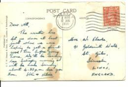 CARD 1950  MAT.JERSEY - Cartas