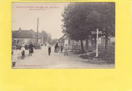 CPA - 10 - MARIGNY LE CHATEL  - Route De Saint Flavy - France