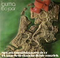 * 2LP *  BUMA 60 JAAR (Met Zevenmijlslaarzen Door 60 Jaar Nederlandse Lichte Muziek - Promo EX-!!!)) - Compilaties