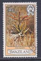 Swaziland, Scott # 349 Used Flowers, 1980 - Swaziland (1968-...)