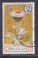 Swaziland, Scott # 350a Used Flowers, 1983 - Swaziland (1968-...)