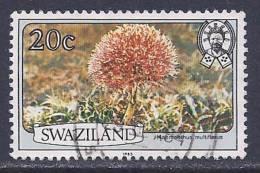Swaziland, Scott # 355a Used Flowers, 1983 - Swaziland (1968-...)