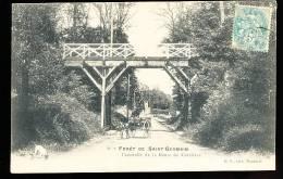 78 CARRIERES SUR SEINE / Forêt De St Germain, Passerelle De La Route De Carrières / - Carrières-sur-Seine