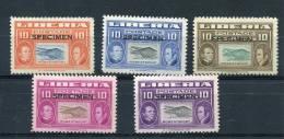 Liberia 1952 Overprint Specimen MH - Liberia