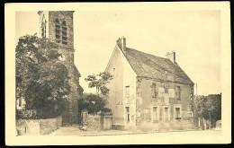 78 AUFFARGIS / L'Eglise Et La Poste / - Auffargis