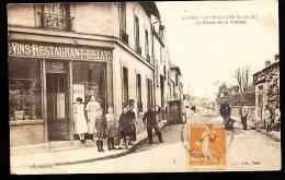 78 AULNAY SUR MAULDRE / La Route De La Falaise / - Frankreich