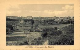 Potenza 1910 Panorama Dalla Stazione - Potenza