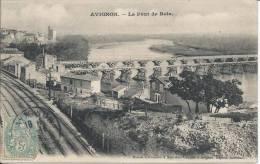 AVIGNON.  -  Le Pont De Bois - Avignon