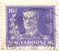 Hungary, 16 F. 1930, Sc #446, Mi # 459, Used - Usati