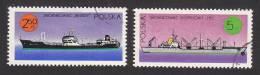 Poland, Scott#1785-1786, Used, Polish Ships, Issued 1971 - 1944-.... Republic