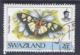 Swaziland, Scott # 604 Used Butterfly, Dated 1991 - Swaziland (1968-...)