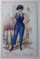 B876 *  Advertising. Trousers. British Manufacture. - Publicité