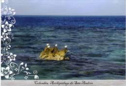 Lote PEP394, Colombia, Postal, Postcard, Pre Franqueada,  Archipielago De San Andres, Bird, Sea - Colombia