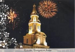 Lote PEP397, Colombia, Postal, Postcard, Pre Franqueada, Cartagena, Torre Del Reloj - Colombia