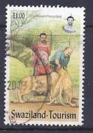 Swaziland, Scott # 712 Used Tourism, Lions, 2002 - Swaziland (1968-...)