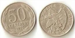 CHILE  50 Centavos 1975 - Chile