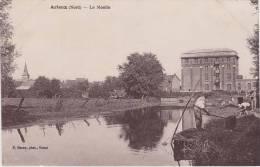 Cpa  Arleux.  Le Moulin. ( 2 Scans ) - Arleux