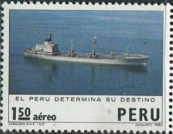 AM0708 Peru 1973 Seafaring Ship 2v MNH - Peru