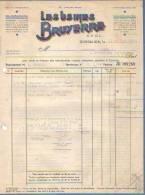 Gosselies - 1948 - Les Usines Bruyerre S.P.R.L. - Alimentaire