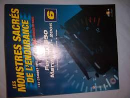 Maquette FERRARI 550 Maranello (n°50) (2005) - Cars