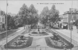 03 MONTLUCON, L'avenue De La Gare - Montlucon