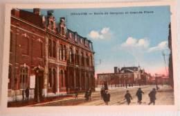 HALLUIN Ecole Des Garcons Et Grande Place - France