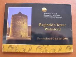 IRLANDA 2004 Cartera Con Serie Euro 8 Monedas , Euroset , Bimetalica 2 , Bimetalic - Irlanda