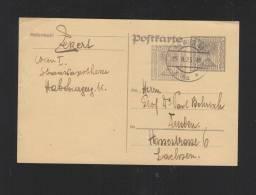Österreich GSK 1923 Wien Nach Dresden - Ganzsachen