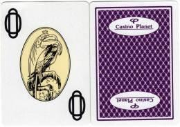Lituanie : 1 Carte De Jeux Du Casino Planet - Casino Cards
