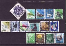 Japon 1980-1999, Obliterés-used - Japon