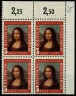 BRD 1952 Nr 148II Postfrisch VIERERBLOCK ECKE-ORE 78861E - [7] Federal Republic