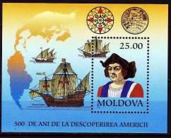 Rep. Moldau 1992 - Block 3 ** / Michel - Moldavia