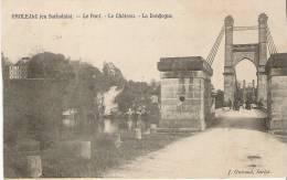 GROLEJAC  LE PONT  LE CHATEAU LA DORDOGNE - France