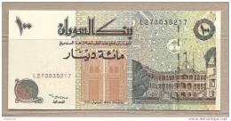 Sudan - Banconota Non Circolata Da 100 Dinari - Sudan