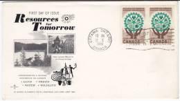 689. Canada, 1961, Cover - 1952-.... Regno Di Elizabeth II