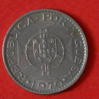 MOZAMBIQUE  10  ESCUDOS  1970   KM# 79B  -    (M1099) - Mozambique