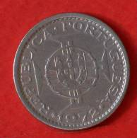 ANGOLA  5  ESCUDOS  1972   KM# 81  -    (M1100) - Angola