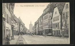 CPA Wissembourg, La Rue Principale - Wissembourg