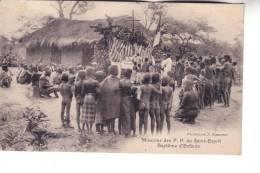 CONGO FRANCAIS  Missions Des P. P. Du Saint Esprit  Baptême D'enfants - Congo Français - Autres