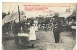 LESSAY - UNE FOIRE NORMANDE - LA CUISINE EN PLEIN AIR - France