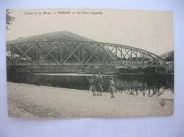 "FUMAY "" Le Pont Suspendu ""  (08170) - France"