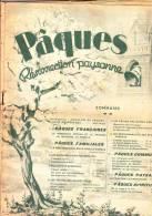 FOYER RURAL, N°4, 13 Avril 1941. Pâques, Résurrection Paysanne, Maréchal PETAIN, Chanoine FERON, Maréchal-ferrand (photo - Journaux - Quotidiens