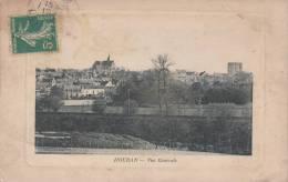Dép. 78 - HOUDAN. - Carte En Cartouche - Vue Générale. Voyagée 1910. - Blin, édit, Houdan - Houdan