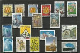 ANDORRA- LOTE DE SELLOS USADOS DE FAVOR CORREO FRANCES .. - Used Stamps
