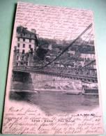 69 - LYON - VAISE - PONT MOUTON - CPA ECRITE 1908 - Autres
